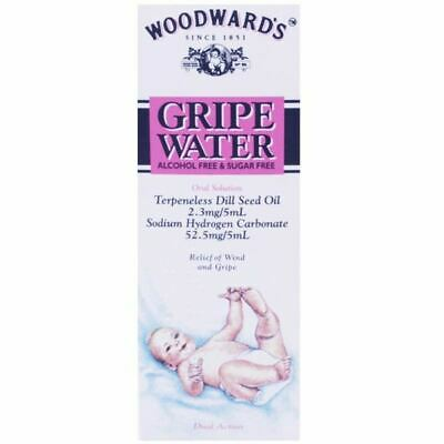 Woodward's Gripe Water 150ml | Relief of Wind and Gripe | 1 2 3 6 12 Packs