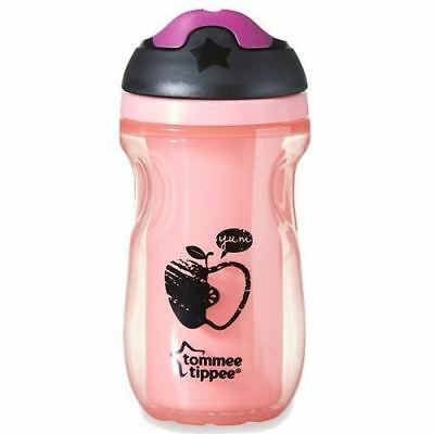 Tommee Tippee Active Pink Sippee Cup 12M+ 260ml 1 2 3 6 12 Packs
