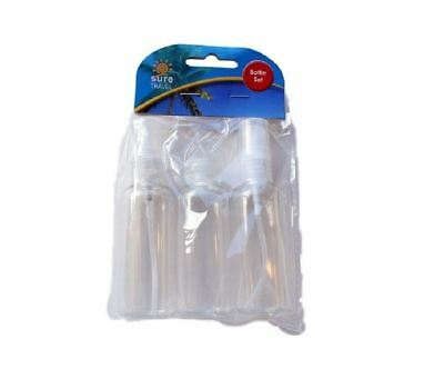 Travel Bottle Set - 3 x 50ml Bottles 1 2 3 6 12 Packs
