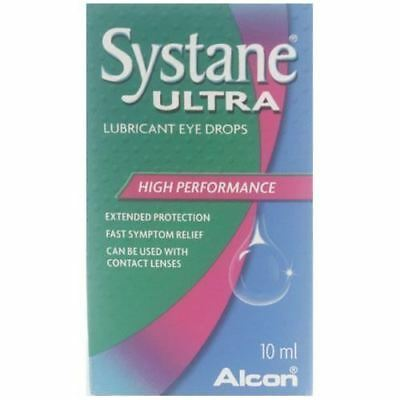Systane Ultra- Lubricant Eye Drops 10ml 1 2 3 6 12 Packs