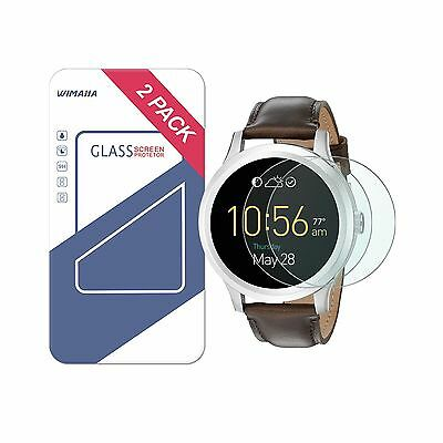 Fossil Q Founder Gen 1 Screen Protector Wimaha 9H Tempered Glass Screen - NEW