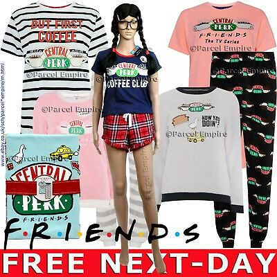 Primark Official FRIENDS NIGHTDRESS Nighty PJ Set Central Perk Pyjamas Pajamas