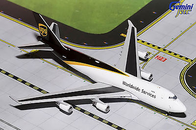 Gemini Jets UPS Boeing 747-400F GJUPS1571 1/400, REG# N572UP. New