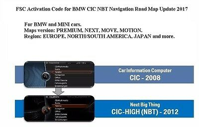 2018 FSC activation code PREMIUM MOVE MOTION NEXT, Europe North America JAPAN