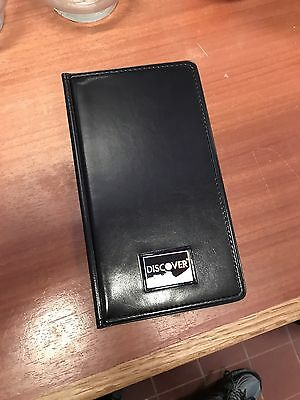 BRANDNEW Waiter book Restaurant Waitstaff Waiter Waitress Double Panel Checkbook