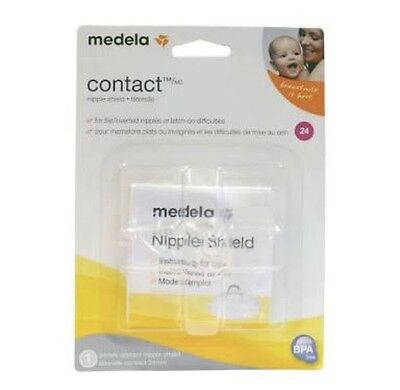 Medela Contact Nipple Shield, M 24 mm New