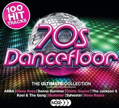 Various - 70S Dancefloor Ultimate Collection BRAND NEW SEALED 5CD