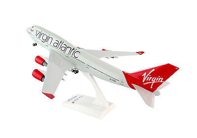 SkyMarks Virgin Atlantic (UK) Boeing 747-400 SKR672 1/200 Reg#G-VTOP w/Gear. New