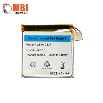 New Replacement Rechargeable Battery for Apple iPod Nano 3 3rd Generation