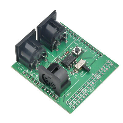 MIDI Shield Breakout Board for Arduino UNO R3 AVI PIC Digital Interface Adapter
