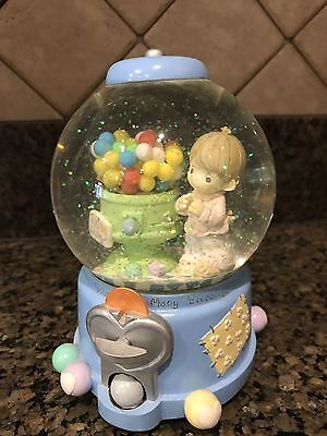 Precious Moments Water Globe Musical Toyland by Enesco Gumball Excellent Cond