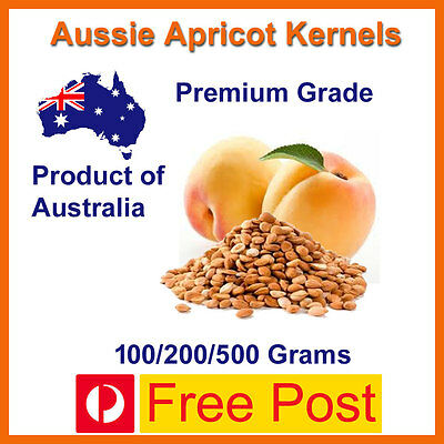 Aussie Apricot Kernels 100/200/500 Grams Free Delivery