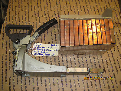 International Staple & Machine Hand Boxer Stapler PLUS 4800 Staples