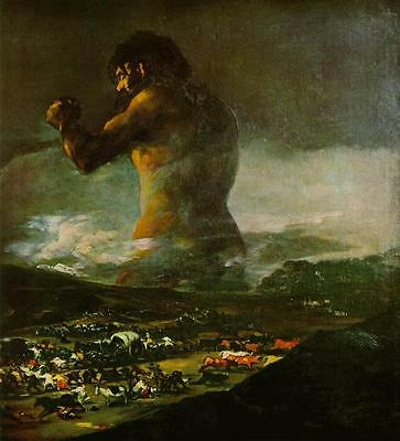 The Colossus  by Francisco de Goya Giclee Canvas Print