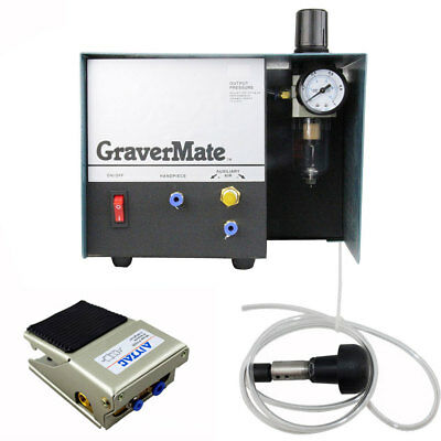 Engraving Machine Pneumatic Impact Single Ended Graver Tool Jewelry Engraver