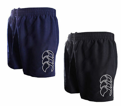 Canterbury Mens Tactic Shorts Navy and Black Size S-3XL