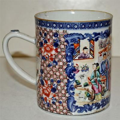 Antique Chinese Export Porcelain Mug or Tankard