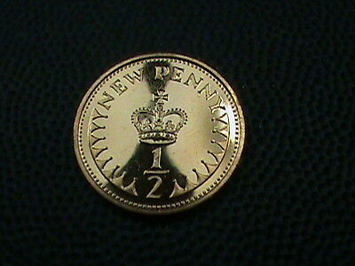 GREAT  BRITAIN    1 / 2  Penny   1971    PROOF