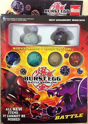 Bakugan 6 in 1 box set instructions and cards