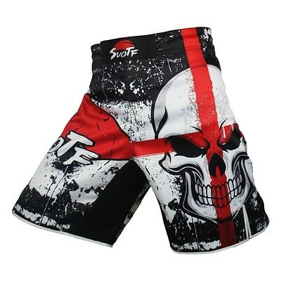 MMA Fight Shorts Grappling Ufc Cage Muay Thai Kick Boxing Martial Arts Fighting