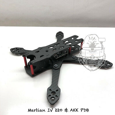 Reptile Martian II 220mm Carbon Fiber Frame 4mm Arms