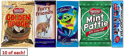 Great Value Variety Combo Of Australia's Most Deliciously Famous Candy/chocolate