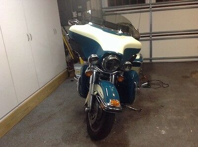 2009 Harley Davidson Motorcycle Ultra Classic Brand New Motor Less 500 Miles