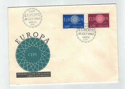 1960 PORTUGAL - Europa Cept, Fdc Cover, Unaddressed