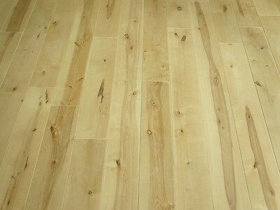 Solid Nordic Birch Hardwood Flooring Wood Boards Rustic 20x120mm unfinished