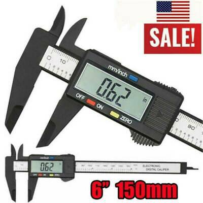 150mm/6inch LCD Digital Electronic Gauge Stainless Steel Vernier Caliper Ruler