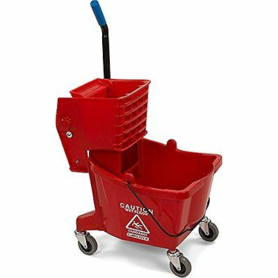 Carlisle 3690805 Food Service Equipment & Supplies Mop Bucket With Side Press 26