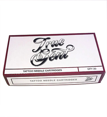 True Gent Premium Tattoo Cartridges - (20 Per Box) -Top Quality - Uk