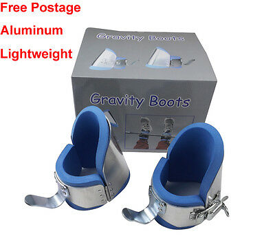 Aluminum Gravity Inversion Therapy Boots Upside Down Hang Ups Lightweight 1.23kg