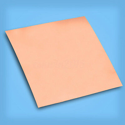 99.9% Pure Copper Cu Metal Sheet Plate Conductive Electrical 0.2mm x100mm x100mm