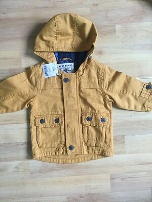 Next Baby Boys 3-6 Months Summer Jacket / Coat Brand New With Tags