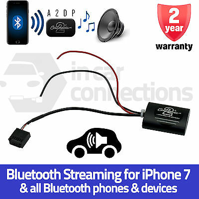 CTAFD1A2DP Ford C-Max A2DP Bluetooth music streaming adapter iPhone 7 in car AUX