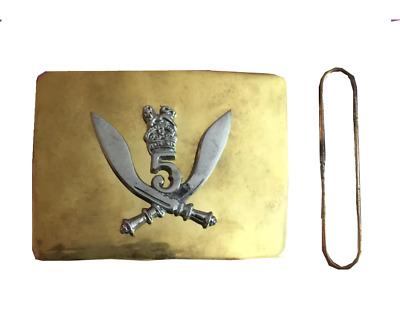 Gurka 5 Highlanders Belt Buckle