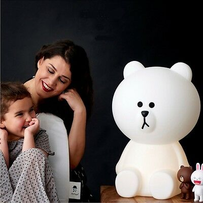 Brown Bear Lamp L by Mr Maria - Dimmable LED Night Light Miffy's Friend
