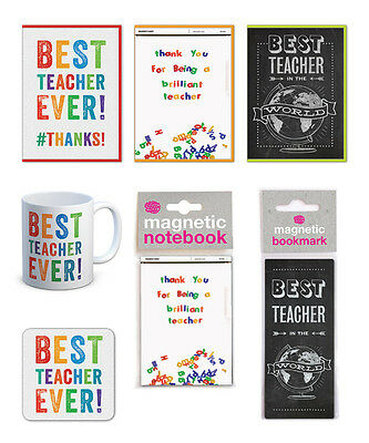 Teacher Cards And Gifts School Leaving Thank You Present End of Term Year Cool