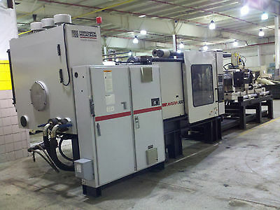 500 ton Cincinnati Milacron Injection Molding Machine Year 2000