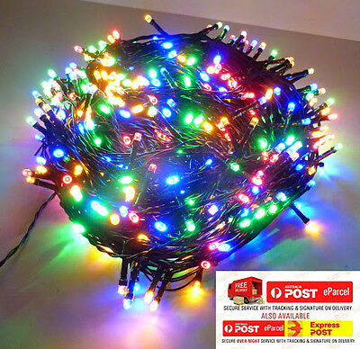 50M 500Led Multicolor Chasing Christmas Fairy Lights With 8 Functions & Memory
