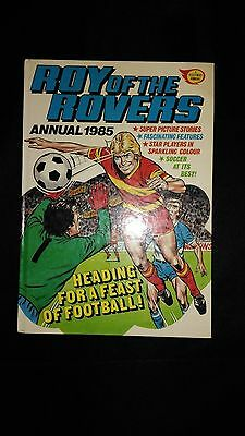 Roy of The Rovers Annual 1985 Vintage Football/Soccer Hardback