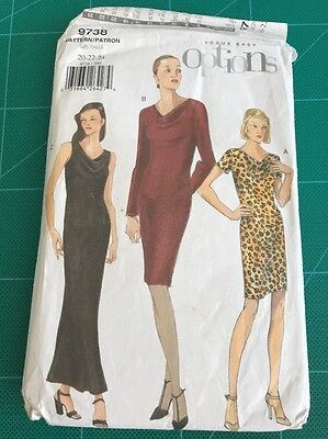 Vintage Sewing Design Clothing Pattern By Vogue Easy Options 9738