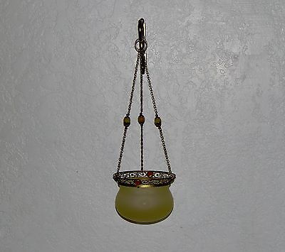 Partylite Paris Retro Glass Hanging Candle Lamp Holder  Sconce – Retired