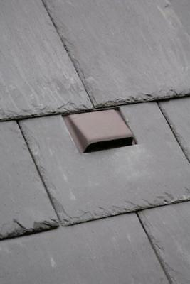 "Bat Access Roof Vent Slate Roof Tile | 2 Slate Colours | 20"" x 10"" / 24"" x 12"""
