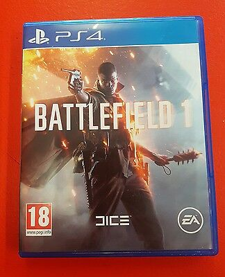 Battlefield 1 - Game Case - PS4 - CASE ONLY (NO DISC)