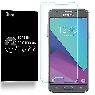 Samsung Galaxy J3 Prime [2-PACK BISEN] Tempered Glass Screen Protector Guard