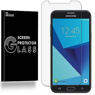 Samsung Galaxy J7 Sky Pro [BISEN 2-PACK] Tempered Glass Screen Protector Guard