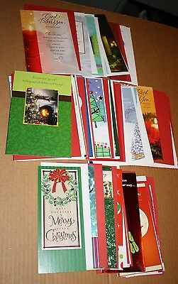 51 Assorted Christmas Cards Religious Friend Sister Merry Dad Mom