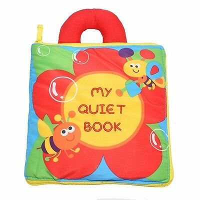 Educational Quiet Book - Flower & Bees